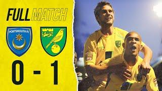 FULL REPLAY | Portsmouth 0-1 Norwich City | Canaries Seal Promotion at Fratton Park | 2011