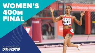 Women's 400m Final | World Athletics Championships