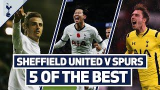 5 OF THE BEST | SPURS BEST GOALS V SHEFFIELD UNITED | Ft. Son, Eriksen, Jenas, Kane & Berbatov