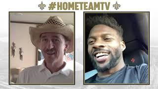 Emmanuel Sanders Talks Road to New Orleans Saints w/ Cooper Manning | #HomeTeamTV
