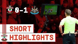 90-SECOND HIGHLIGHTS: Southampton 0-1 Newcastle United | Premier League