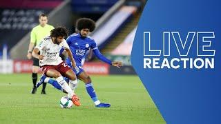 LIVE POST-MATCH REACTION | Leicester City vs. Arsenal | Matchday Live
