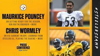 Steelers Virtual Camp Press Conference (Sept. 3): Maurkice Pouncey, Chris Wormley