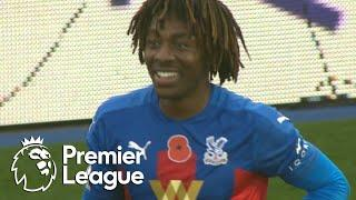 Eberechi Eze free kick doubles Crystal Palace edge v. Leeds United | Premier League | NBC Sports
