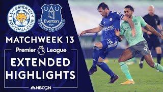 Leicester City v. Everton | PREMIER LEAGUE HIGHLIGHTS | 12/16/2020 | NBC Sports