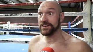 'NO LOMACHENKO'S OR ANYONE WILL BEAT HIM - HE HAS GOT MY SIZE BODY!' - TYSON FURY IS BACKING LOPEZ