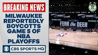 Milwaukee Bucks boycott Game 5 of NBA playoffs in protest | CBS Sports HQ