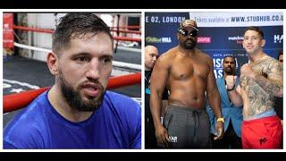 DERECK CHISORA IS USING FORMER RIVAL SENAD GASHI FOR SPARRING, FOR UPCOMING OLEKSANDR USYK FIGHT