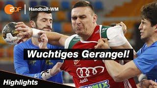 Ungarn - Brasilien – Highlights | Handball-WM 2021 – ZDF