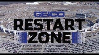 Every restart from Texas playoff race 2019 | GEICO Restart Zone