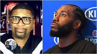 Jalen reacts to Kawhi's bubble struggles: Is it time to drop Clippers for Lakers?   Jalen & Jacoby
