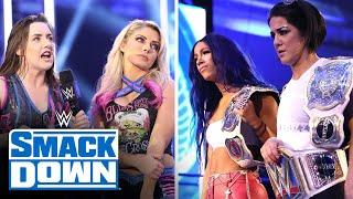 Bayley & Sasha's self-organized tribute gets derailed by Bliss & Cross: SmackDown, July 3, 2020