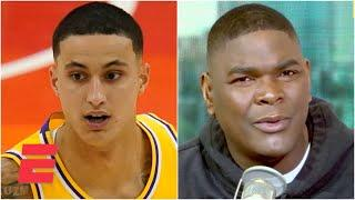 'C'mon Kuz!' - Keyshawn Johnson is disappointed in Kyle Kuzma | KJZ