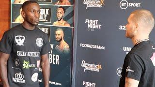 EKOW ESSUMAN v CEDRICK PEYNAUD (OFFICIAL HEAD-TO-HEAD) @ PRESS CONFERENCE / BT SPORT / FRANK WARREN