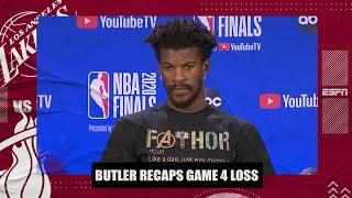 Jimmy Butler says the Heat needed to be better to win Game 4 | 2020 NBA Finals