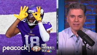 What Vikings' Justin Jefferson learned the most during rookie year   Pro Football Talk   NBC Sports