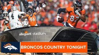 New city, same rivalry: Fant and Harris discuss rivalry with Las Vegas | Broncos Country Tonight