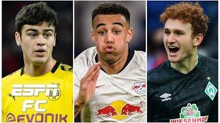 USMNT's Bundesliga Power Rankings: Does Gio Reyna, Tyler Adams or Josh Sargent take No. 1? | ESPN FC