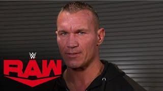 Randy Orton says there's a price to pay for Drew McIntyre & Legends: Raw, Sept. 28, 2020