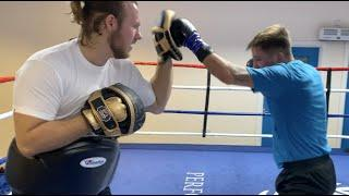 DUBAI BOUND! - LEE McGREGOR BATTERS THE PADS WITH BEN DAVISON AHEAD OF EUROPEAN TITLE SHOT ON FEB 6