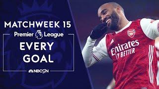 Every Premier League goal from Matchweek 15 (2020-2021) | NBC Sports