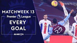 Every Premier League goal from Matchweek 13 (2020-2021) | NBC Sports
