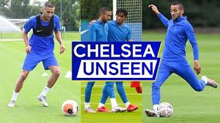 Hakim Ziyech's First Week At Chelsea  + This Hilarious Tomori Moment | Chelsea Unseen