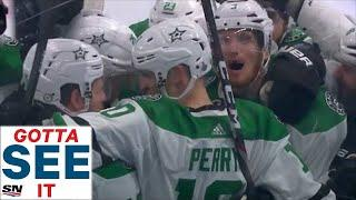GOTTA SEE IT: Stars' Corey Perry Ends Game 5 With Double OT Winner