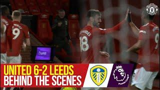 Behind the Scenes & Pitchside Cam | United 6-2 Leeds | Premier League | Manchester United