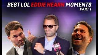(FUNNY!) EDDIE HEARN BEST HILARIOUS ONE LINERS & MOMENTS!