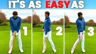 This SIMPLE GOLF TIP makes the GOLF SWING easier to learn