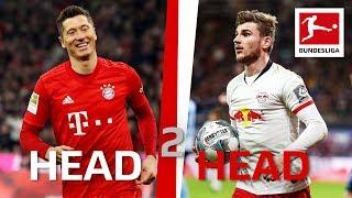 Robert Lewandowski vs. Timo Werner - Star Strikers Go Head-to-Head