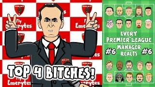 Arsenal 3-2 Comeback! Chelsea 1-2 Liverpool! #6 Every Premier League Manager Reacts!