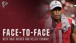 Julio Jones | TOP CAREER MOMENTS | Falcons Face-to-Face