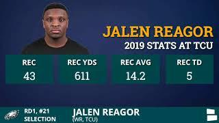 Philadelpia Eagles Select WR Jalen Reagor From TCU With Pick #21 In 1st Round Of 2020 NFL Draft