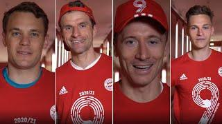 """""""This championship is for you!"""" - Neuer, Müller, Lewandowski & Kimmich on winning the championship"""