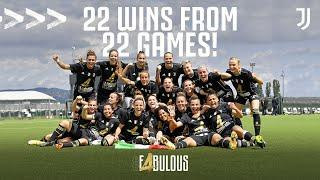 22/22 Wins Completes PERFECT SEASON For Juventus Women!   Winning Moment and Trophy Lift   #F4BULOUS