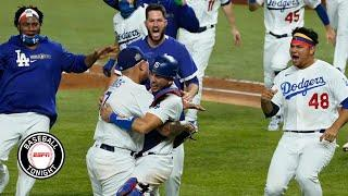 Reaction to the Los Angeles Dodgers winning the 2020 World Series | Baseball Tonight