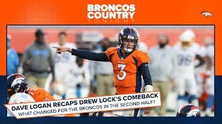 Dave Logan discusses Drew Lock's dramatic comeback performance | Broncos Country Tonight