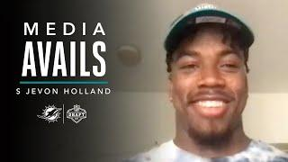 S Jevon Holland Talks About Being Selected at No. 36   Press Conference