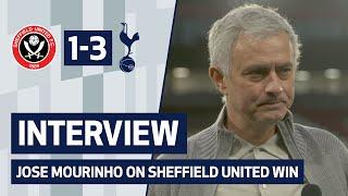 INTERVIEW | JOSE MOURINHO ON SHEFFIELD UNITED WIN