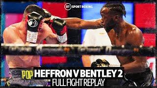 Denzel Bentley beats Mark Heffron in rematch to win British title - full fight replay
