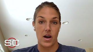 Elena Delle Donne speaks out on the 'shock' of being denied medical opt-out by WNBA | SportsCenter