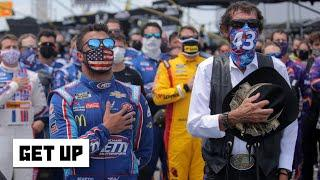 Marty Smith on NASCAR drivers rallying around Bubba Wallace at Talladega | Get Up