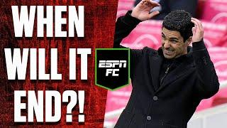 Will Arsenal's downward spiral end soon? | #Shorts | ESPN FC