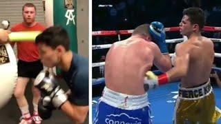 THE SHOT THAT STOPPED CAMPBELL! - IS THIS THE MOMENT CANELO SHOWS RYAN GARCIA THE PERFECT LEFT HOOK?