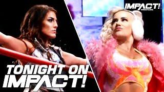 Tessa Blanchard & Taya Valkyrie MAKE HISTORY in World Title Main Event TONIGHT on IMPACT Wrestling!