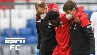 Will Alphonso Davies' injury cause him to lose the left back spot at Bayern Munich? | ESPN FC