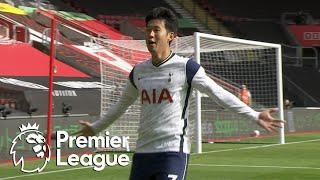 Heung-min Son's second goal gets Tottenham ahead of Saints | Premier League | NBC Sports