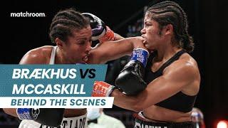 Cecilia Brækhus vs Jessica McCaskill fight week (Behind the scenes)